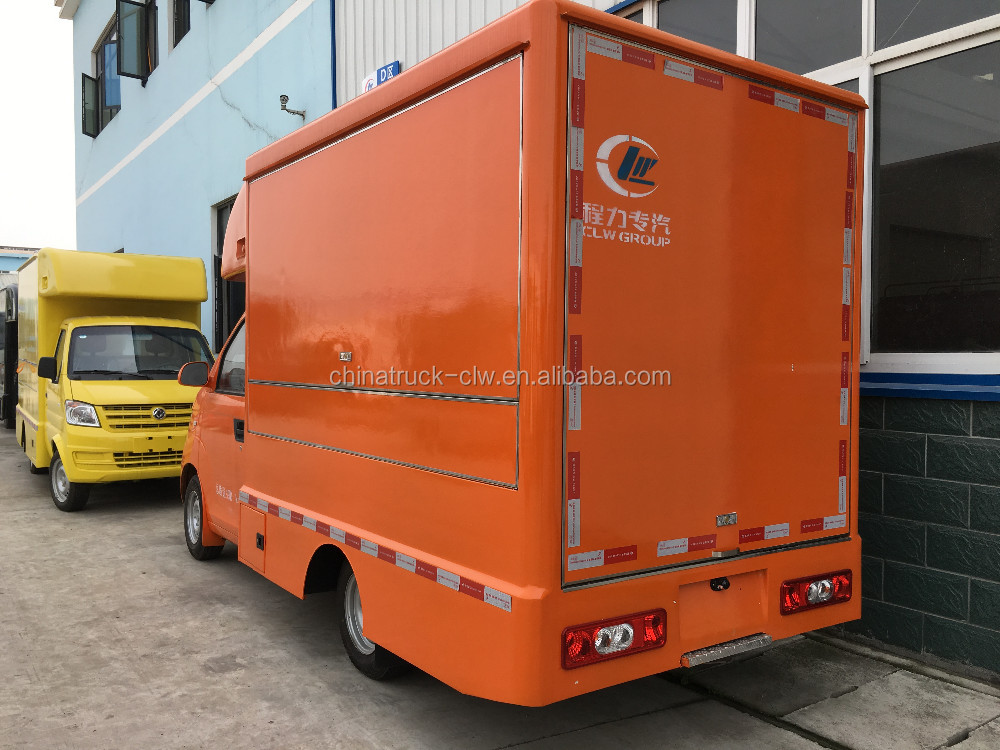 customized karry high quality dining van truck mobile snack food truck for hot sale