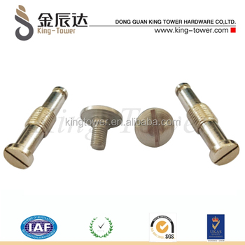 steel bicycle solid steel axle screw for toy car