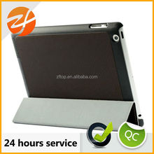 pc cover tablet case for ipad 2 3 4,fold stand cover case for ipad 2