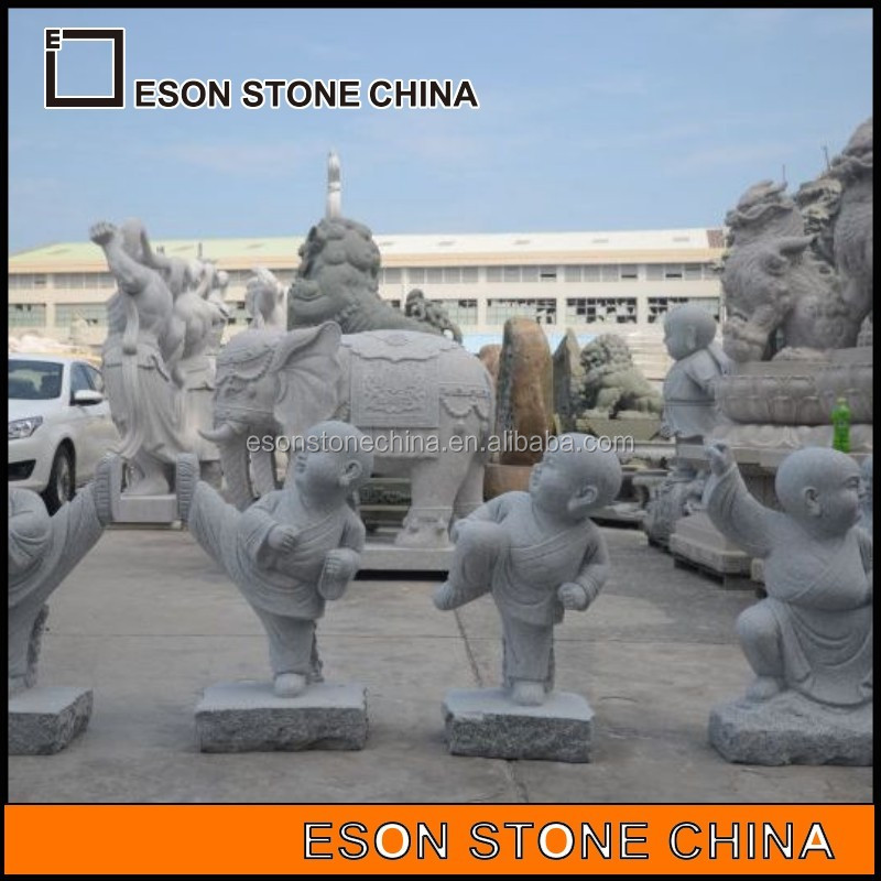 eson stone 95 cute monk stone carving and sculpture,statue mold