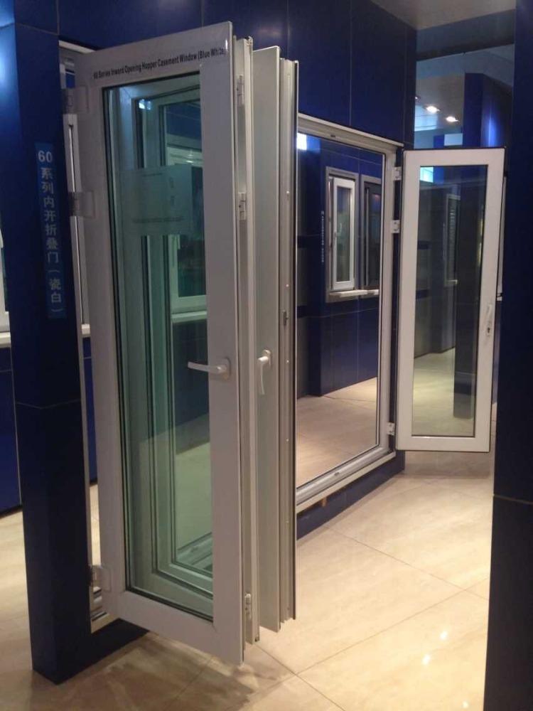 60 Casement Pvc Glass Folding Door Vents For Interior Doors Buy Folding Door Door Vents For