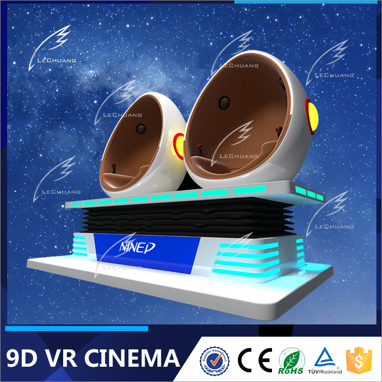 360 Degree Rotation 9D Cinema Simulator 5D 6D 7D Motion Ride 9DVR Game
