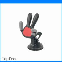 Adjustable chinese supplier most popular hand shape cell phone holder