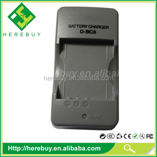 HIgh Quality Battery Charger for Pentax D-BC8 DBC8 BC8 D-LI8 LI8 battery charger