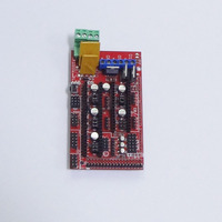3d printer parts control board RAMPS 1.4 red board for 3d printer