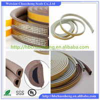 weatherproof self-adhesive half round rubber strip