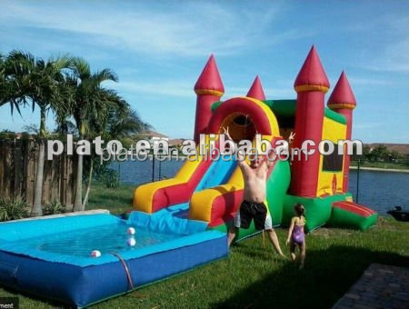 Hot Sale giant inflatable slide/inflatable water slide