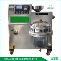 low price mini screw oil press machine/homeuse oil press/integrated mini oil press