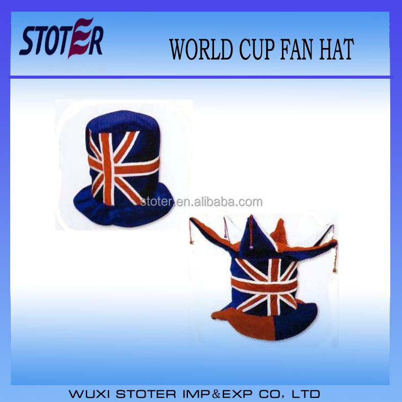 2014 Fun party hat/funny football fans hat