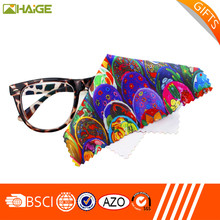New design Professional silk printing eyeglasses cleaning cloth Sold On Alibaba