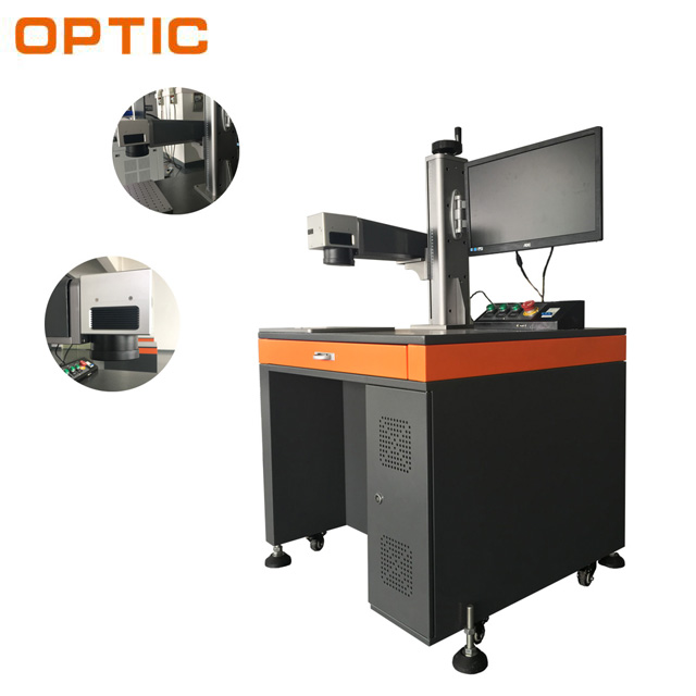 2017 hot sales 20w 30w mopa color fiber laser marking machine for sale