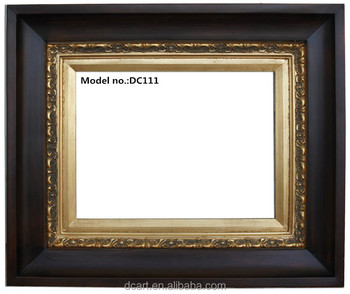 Antique solid wooden frame for picture, painting and photo, home decoration