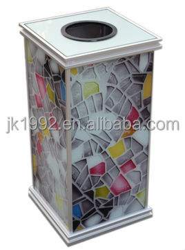 40L,plastic large containers, plastic outdoor bin, with wheelie, square waste can ,with pedal or not,garbage