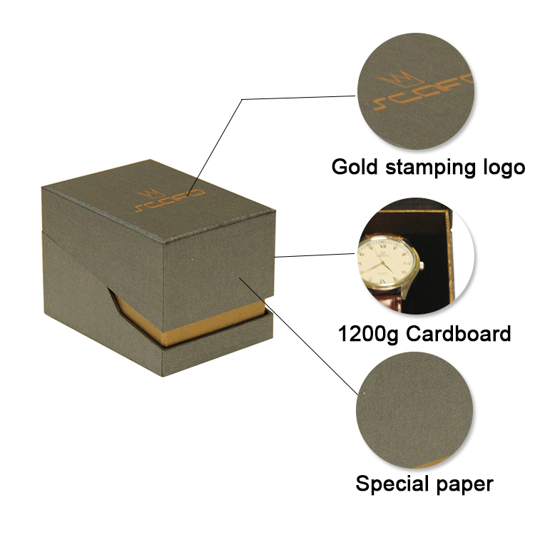 paper board single packaging watch boxes