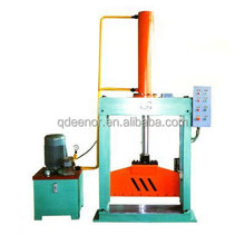 ISO9001 CE Upright Single Knife Rubber Sheet Cutting Machine