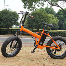 "CNEBIKES wholesale price 20"" fat tire beach cruiser bikes folding electric fat bike on sale"