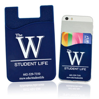 silicone cell phone smart wallet