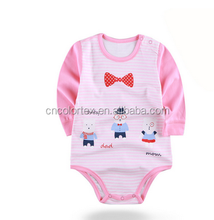 Baby long sleeve snap crotch bodysuit