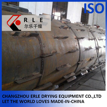 Plastic Tab Cylinder Drying Machine Rotary Drum Dryer Machine