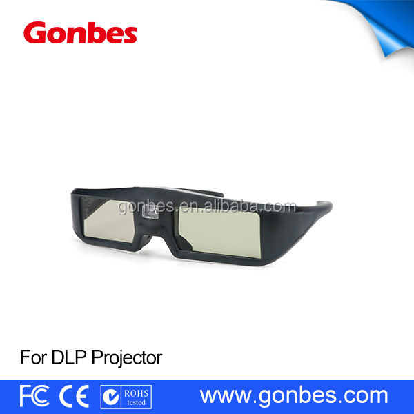 Cheap New Design 3D Glasses For dlp Link Projectors, like Optoma, Acer,Viewsonic