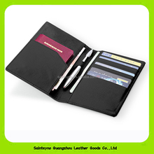 15223 2016 newly leather passport holder for men wholesale simple design man passport cover
