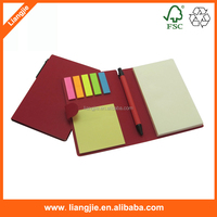 Newest design Sticky writing notes,memo pads ,pet index with pen