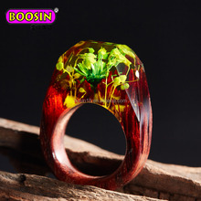 Men's Fashion Statement Jewelry Game of Thrones Ebony Wood resin ring