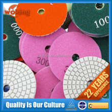 "5"" diamond stone floor polishing pads"