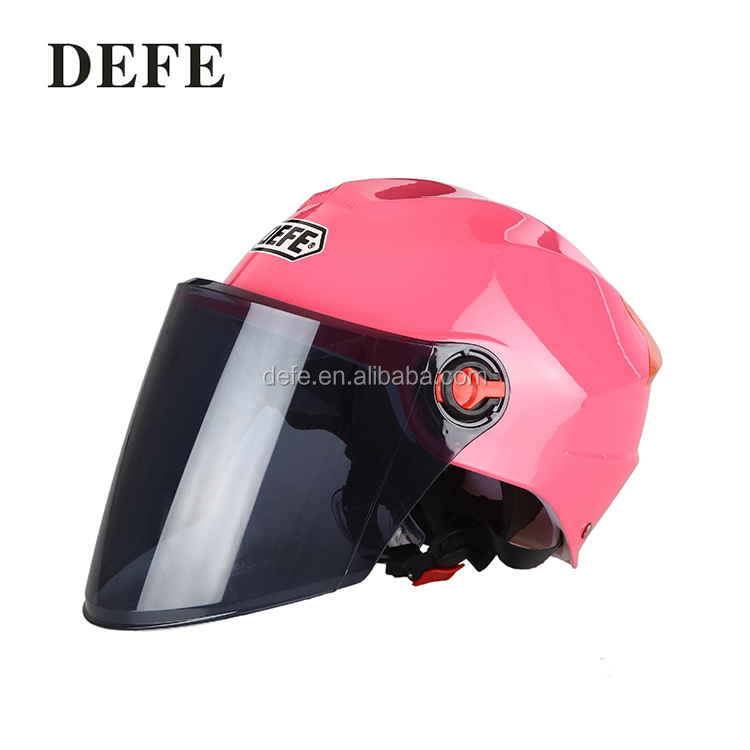 Best quality unique abs/pp motorcycle helmets pink summer helmets