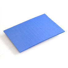 Lightweight recycled corrugated polypropylene plastic sheet/board