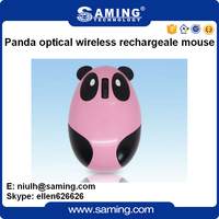 Personal Optical wireless panda animal computer mouse
