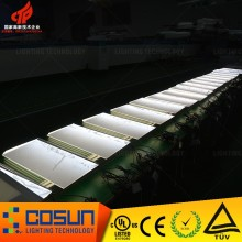 LED light panel for mobile phone display table