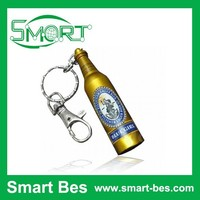 Smart bes~Hot Sale usb flash drive, Beer Bottle metal usb flash drive, bulk usb flash drive