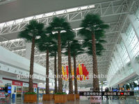 make artificial big trees,outdoor/indoor artificial palm tree