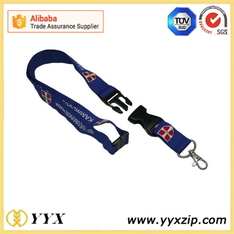 high quality polyester printing lanyard china wholesale for keychain,mobile phone,id card,water bottle