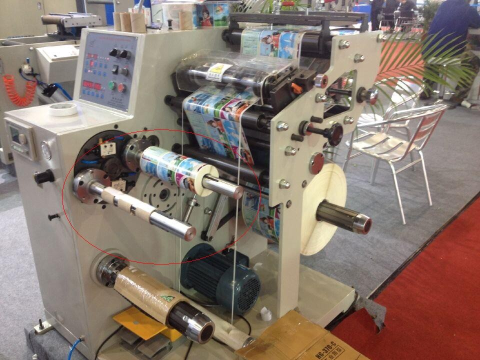 Supply HSN - 320 - s Rotary die cutting with slitting machine