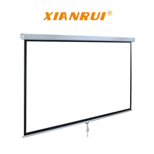 Manual Screen 1:1 96 inch Matte White Pull Down Projection Projector Screen