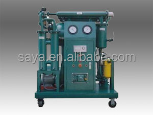 oil refinery plant used ZYA-200 two-stage transformer oil purifier for filtering