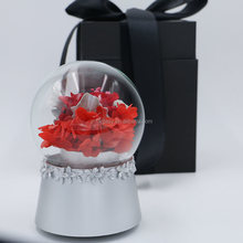 Forever Lasting Rose Flower Music Box Bedroom Accesories for New Year Gifts