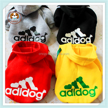 Wholesale dog clothes, hot sale pet winter hoodies clothing for large size dog, adidog pet clothes