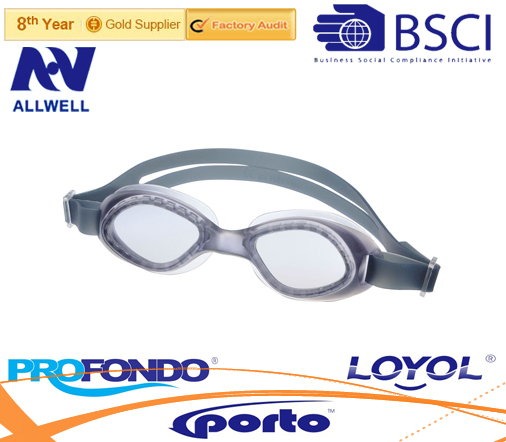 One piece injection TPE/PVC goggles - G2426
