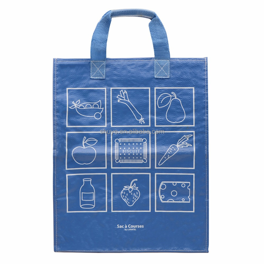 Laminated Clear Non Woven Plastic Beach Bag - Buy Beach Bag ...
