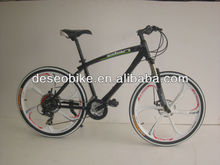 "2015 latest 26"" black high quality mountain bike"
