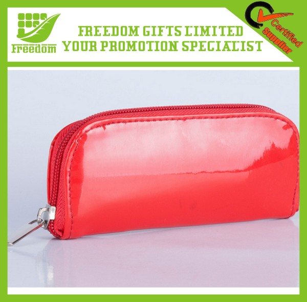 New Promotional Printing Logo Custom PU Cosmetic Bag