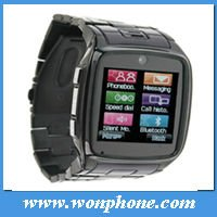 TW810 Stainless Steel Wrist Watch Phone
