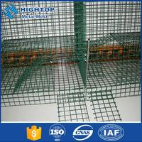 Top quality 1x1 pvc coated welded wire mesh