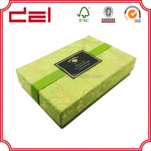 China factory custom gift packaging fashion paper olive oil box