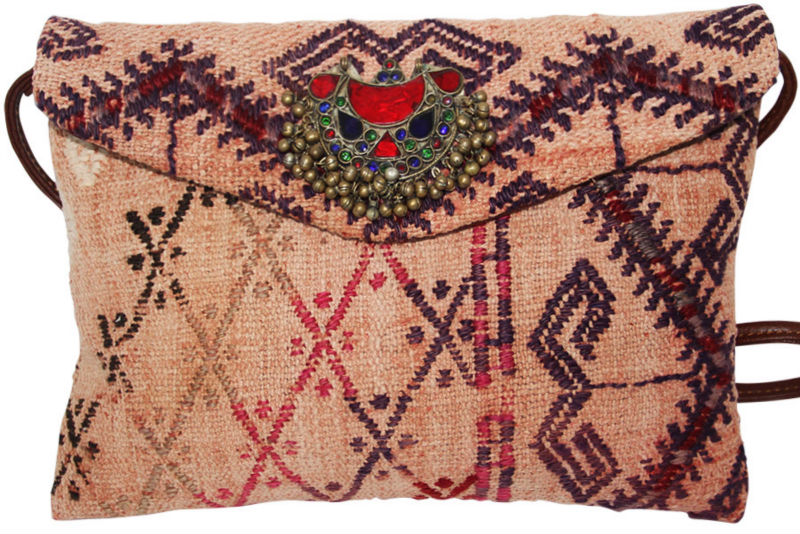 Kilim Bag - Women Clutch Bag - Crossbody Bag