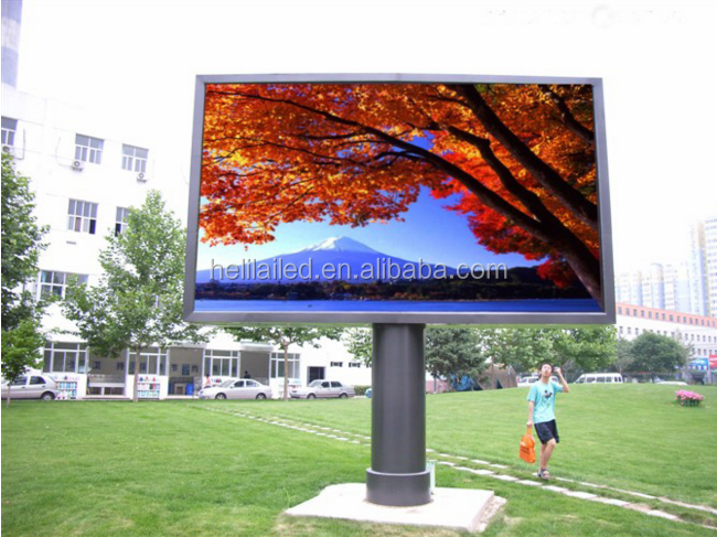 Outdoor digital comercial advertising P10 LED screen/led sign/Outdoor led display billboard