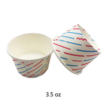 Hot sellingdouble Pe coated paper ice cream container/bowl